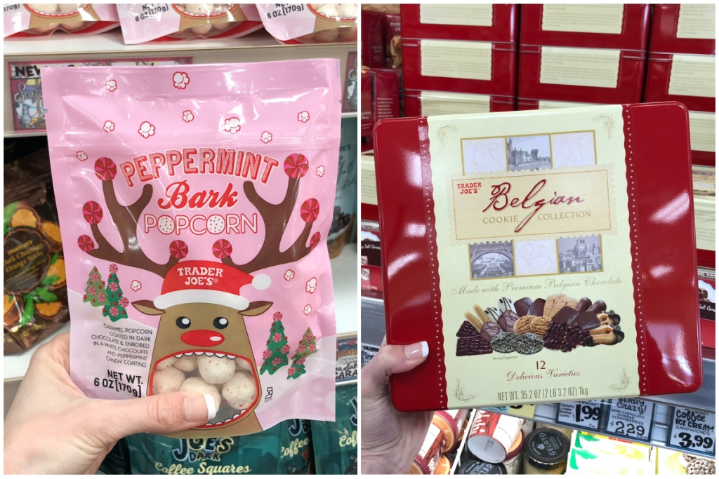 Trader Joes holiday sweets