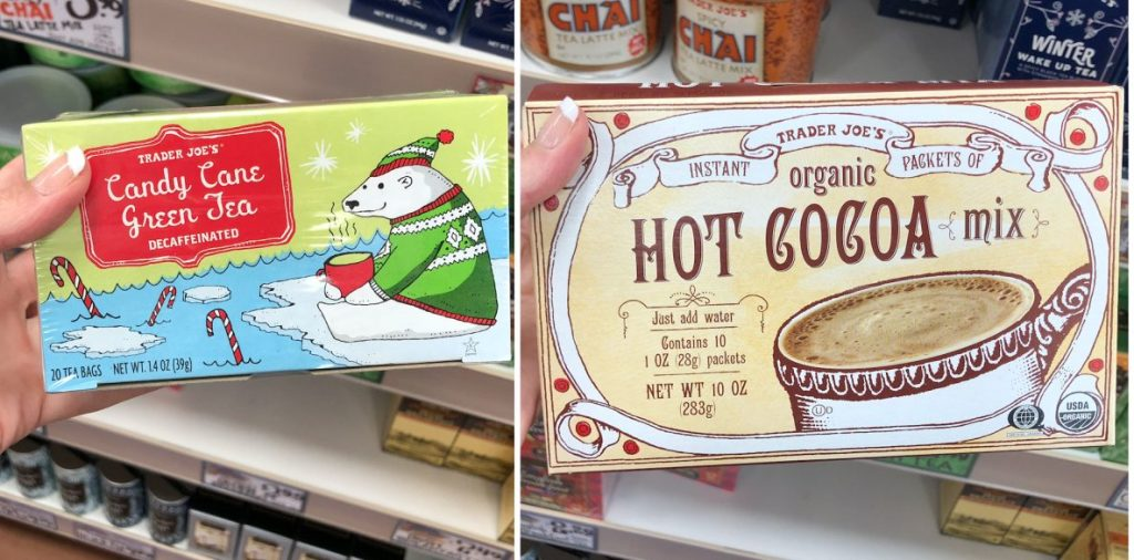 Trader Joes hot drinks