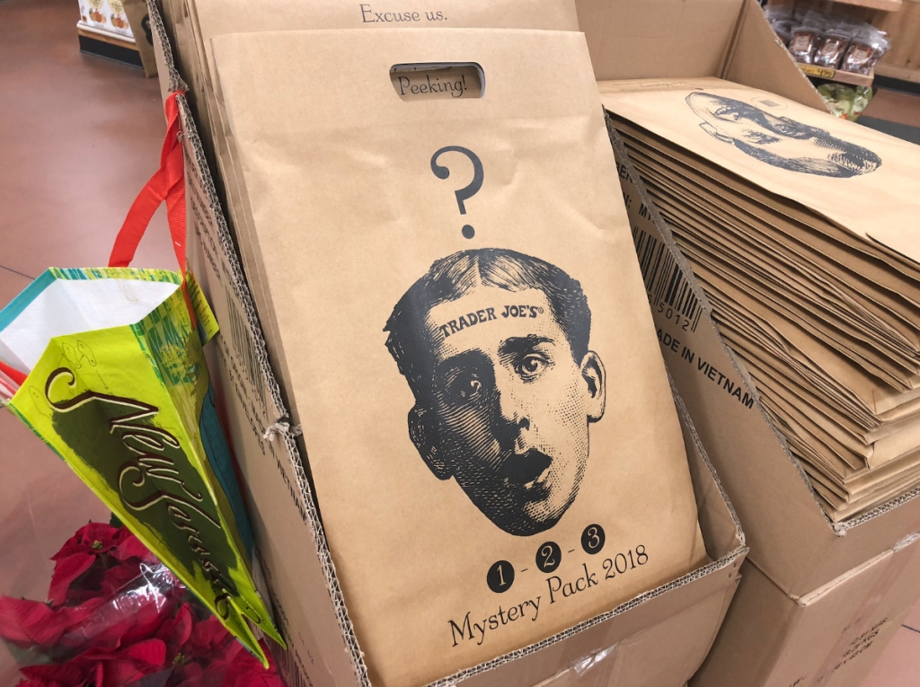 Trader Joe's mystery shopping bags