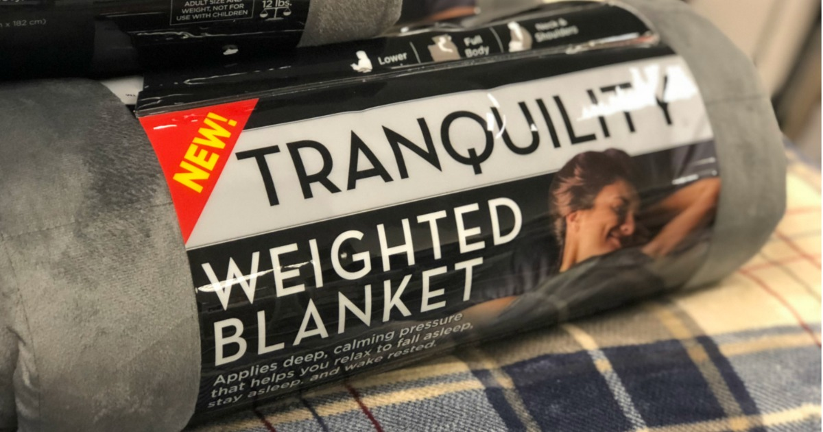 Black Friday Savings On Tranquility Weighted Blankets At