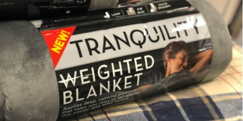 Tranquility Weighted Blanket Just $69.99 Shipped at Target.com (Or LESS w/ Black Friday Coupon)