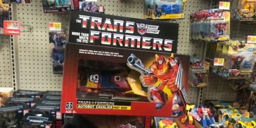 Walmart: Transformers Vintage Autobot Hot Rod Only $12.97 (Regularly $30)