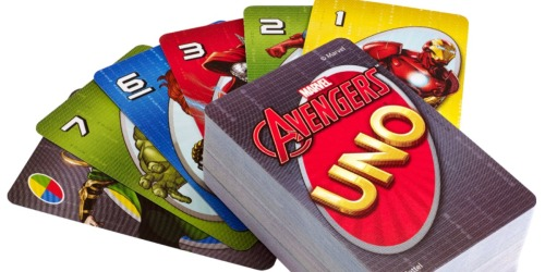 UNO Marvel Avengers Card Game Just $3.99