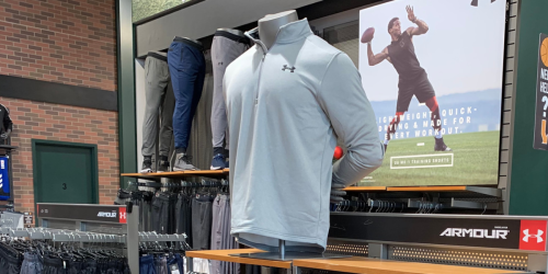 Up to 50% Off at Under Armour Outlet + $30 Off $100 Order + Free Shipping