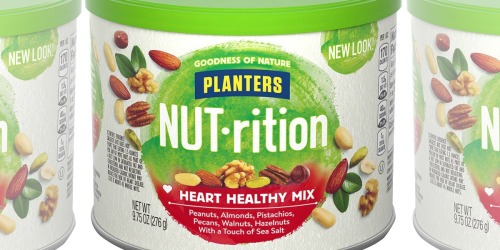 Amazon: Planters NUTrition Heart Healthy Mix 3-Pack Just $10.69 Shipped (Only $3.56 Each)