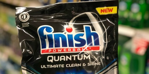 Amazon: Finish Quantum Dishwasher Tabs 82-Count Only $10.95 Shipped + More