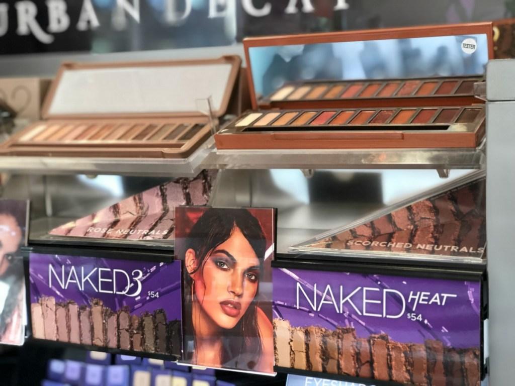 Urban Decay Naked Heat Eye Shadow Palette ulta store 3