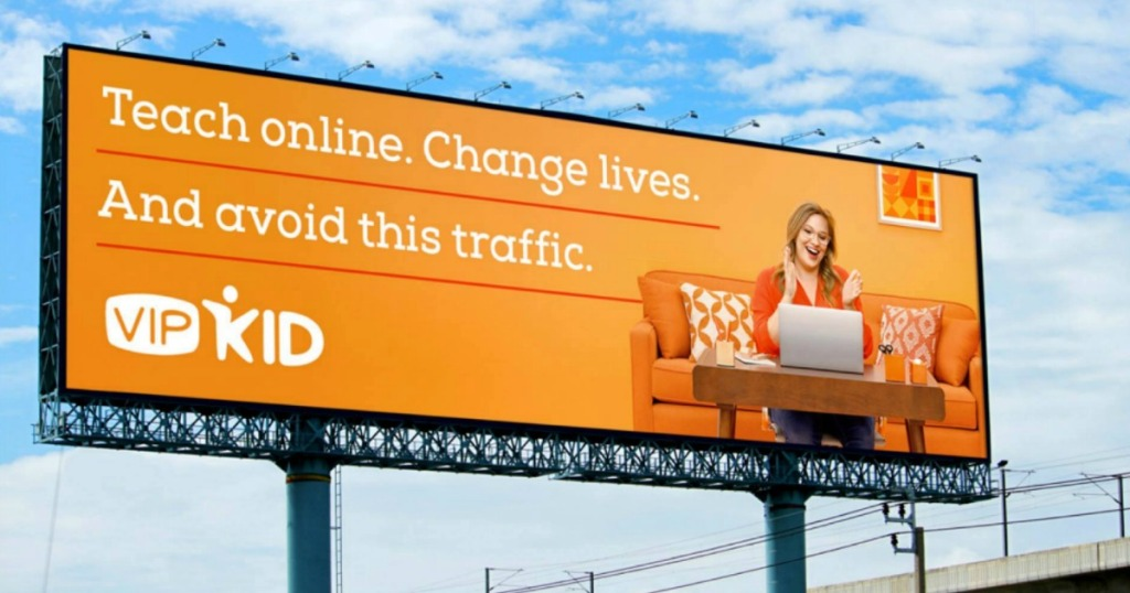VIPKID Teaching Billboard