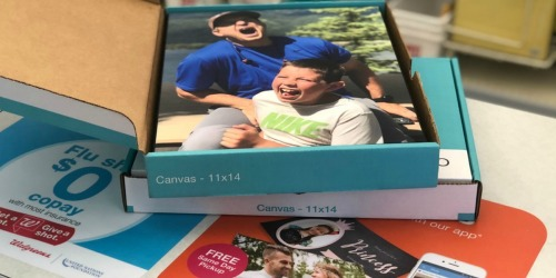 75% Off Photo Canvas & Wall Decor + FREE Walgreens Same Day Pick Up