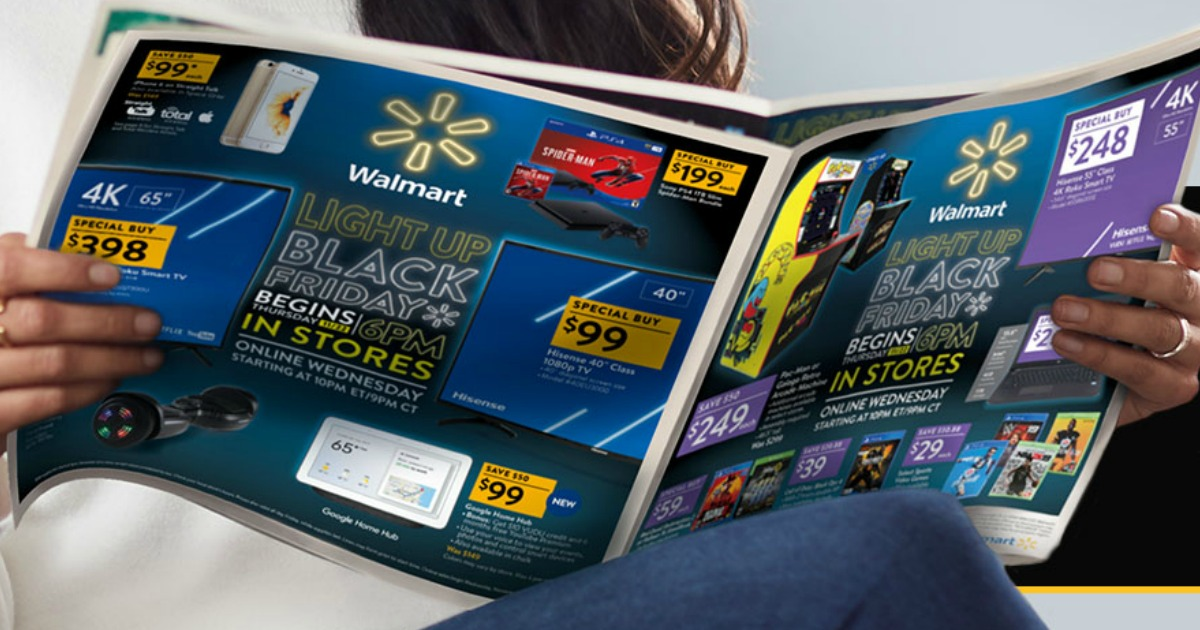 Opening Walmart Black Friday Ad