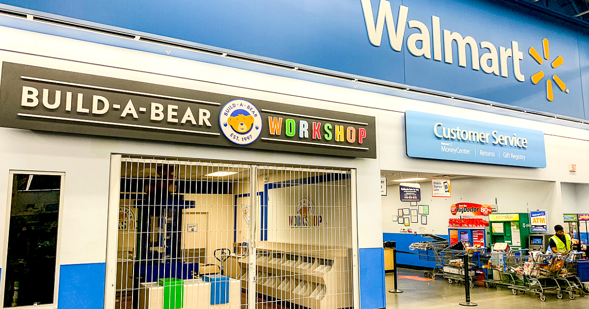 Walmart Build-A-Bear Workshop