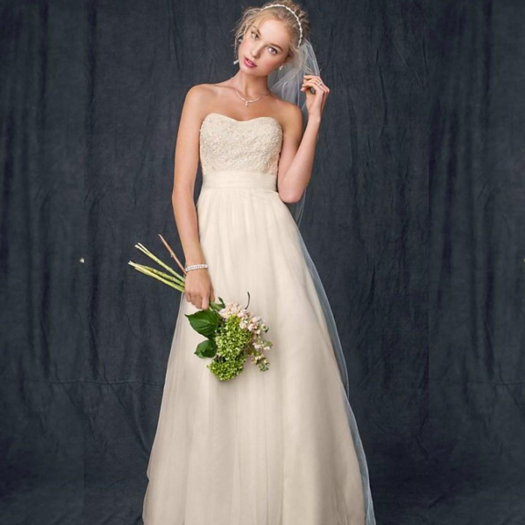 Davids Bridal Wedding Gown: David's Bridal Wedding Dresses Just $99 (Regularly $400