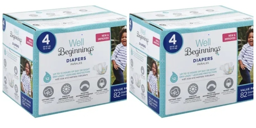 30% Off Well Beginnings Diapers at Walgreens