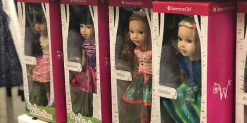 Up to $20 Off American Girl Purchase + Free Shipping on Wellie Wishers