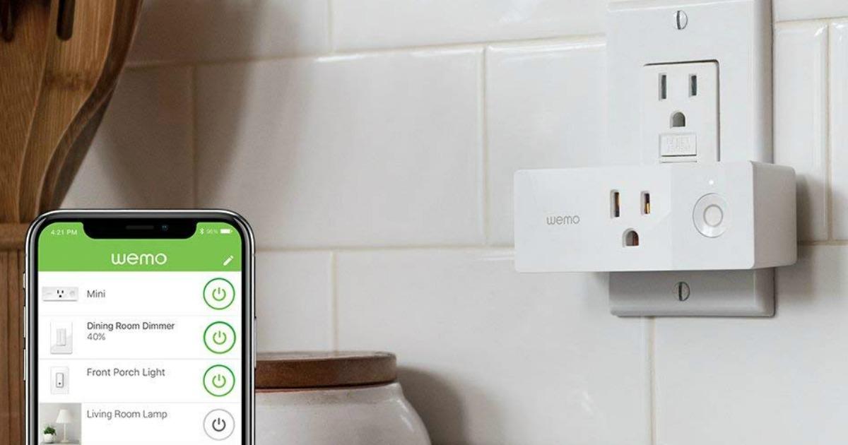 WeMo Wi-Fi Light Switch AND Smart Plug Bundle Only $39.97 ...