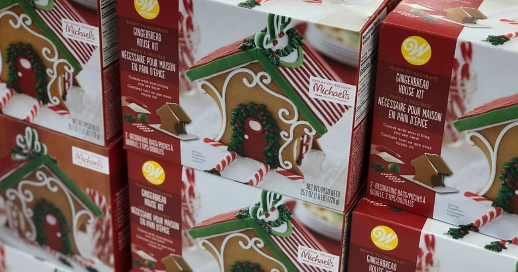 Wilton Gingerbread Kits Only 7 At Michaels Hip2save