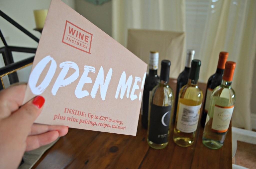 Wine Insiders Savings booklet