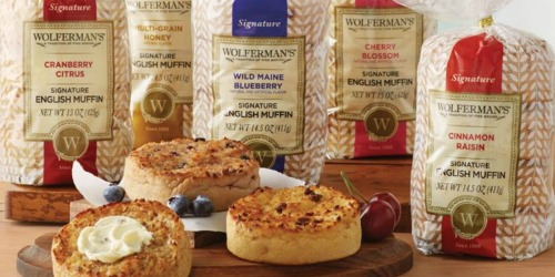 Wolferman's Signature English Muffins 5-Pack Only $14.99 Shipped (Regularly $27)