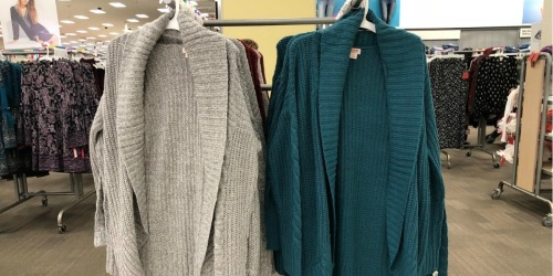 Sweaters & Cardigans as Low as $10 Shipped (Regularly $23+) at Target.com