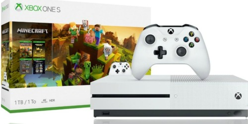 Microsoft Xbox One S Minecraft Creators Bundle as low as $189 Shipped (Regularly $300) & More