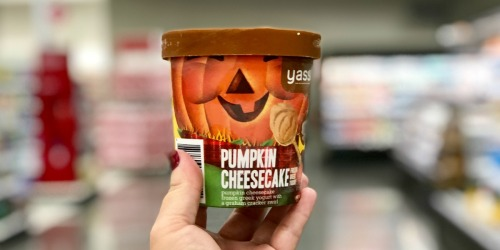 80% Off Yasso Pumpkin Cheesecake Frozen Greek Yogurt Pints & Bars at Target