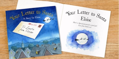 Your Letter to Santa Personalized Storybook Only $16 Shipped