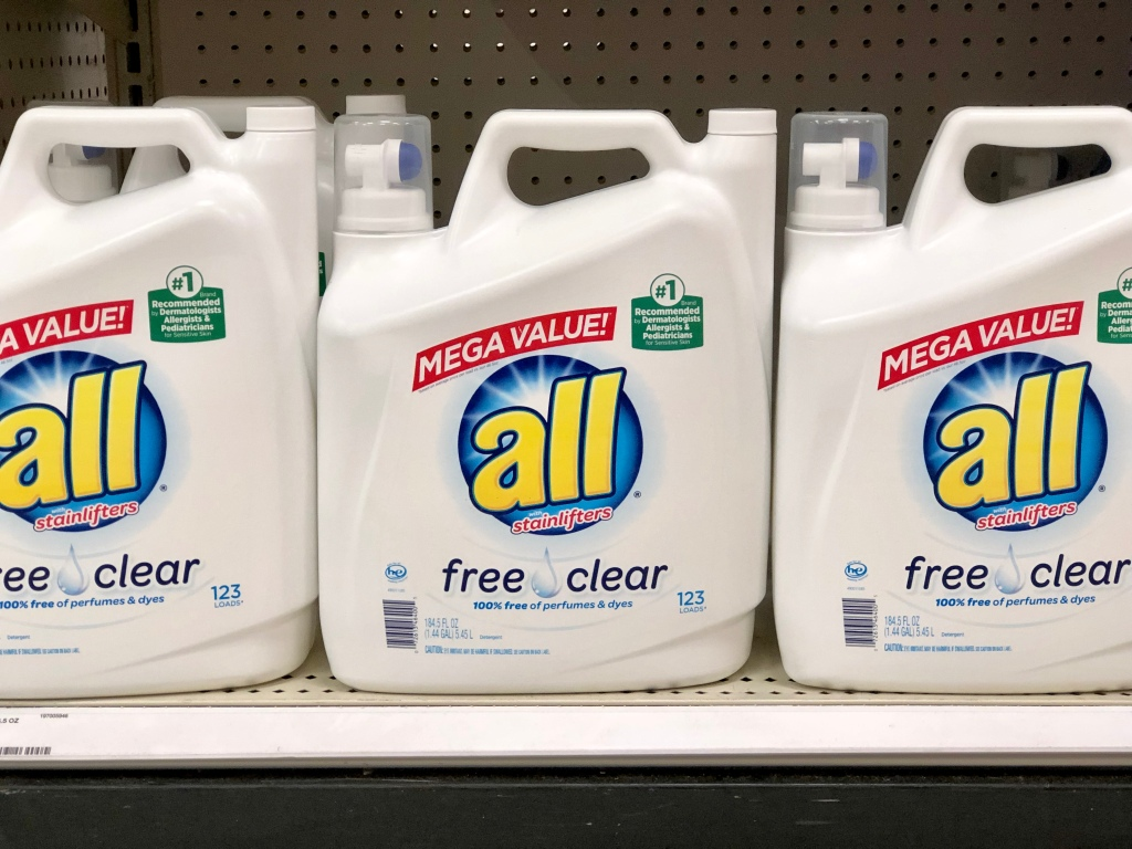 pair the gift card offer with a printable coupon for a sweet deal on all laundry detergent