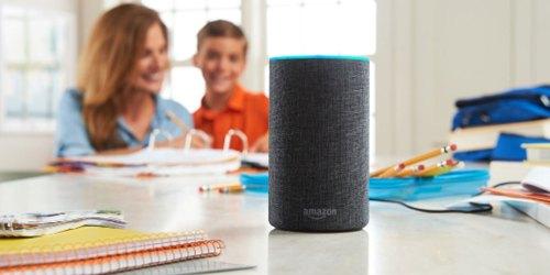 Amazon Echo 2nd Generation AND Smart Plug Only $74.99 Shipped (Regularly $125)
