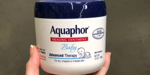 Amazon: Aquaphor Baby Healing Ointment 14oz Jar Only $7.71 Shipped & More