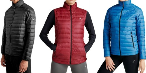 ASICS Men's & Women's Down Puffer Jackets Only $19.99 Shipped (Regularly $80+)
