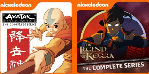 Avatar: The Last Airbender OR The Legend Of Korra The Complete Series Only $29.99 at iTunes