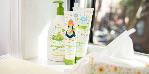 Amazon: Up to 75% Off babyganics Wipes, Diapers & Foaming Hand Sanitizer