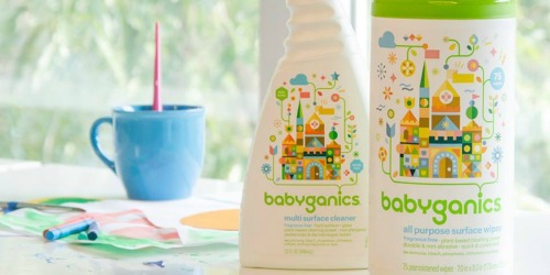 Amazon: babyganics 150-Count Surface Wipes Only $4.11 Shipped (Regularly $16)