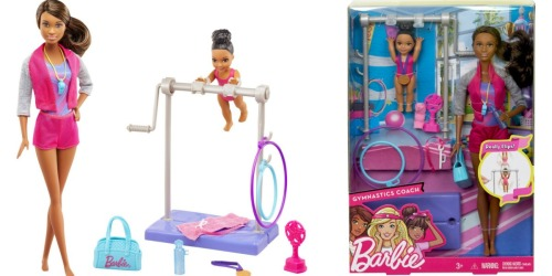 Barbie Careers Gymnastic Coach Playset Just $14.99 Shipped
