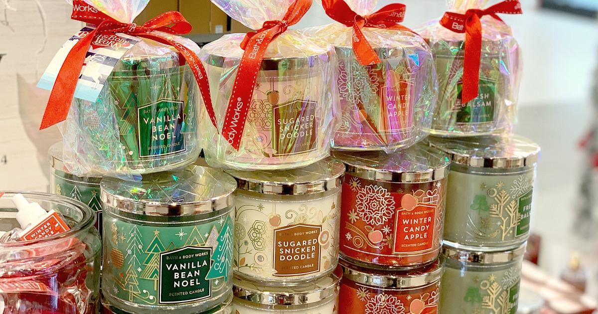 Bath And Body Works 2020 Candle Christmas Scents Bath & Body Works Candle Day 2020 | Latest Updates on Hip2Save