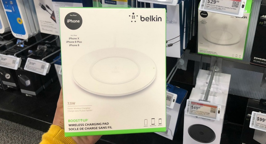gift guide for men — belkin wireless iphone charger