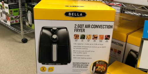 Lowe's: Bella 2.6-Quart Air Fryer Only $29 (Regularly $50)
