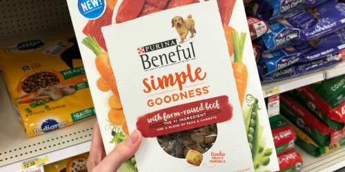 Purina Beneful Simple Goodness Dog Food Only $2.99 Each at Target (Regularly $8)