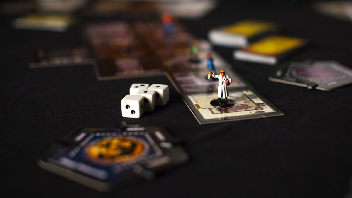 still shot of game board for Betrayal At House on the Hill Strategy Board Game