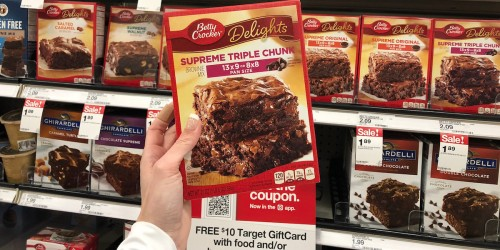 Up to 45% Off Betty Crocker Mixes at Target (Today Only)