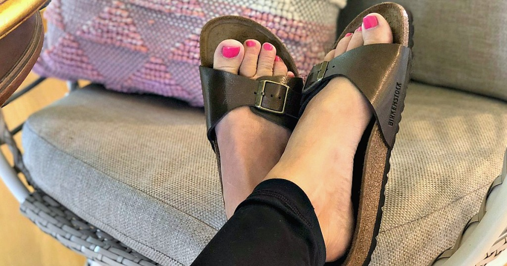 9205e9230 Hop on over to Proozy.com where you can snag a pair of Birkenstock Madrid  Birko-Flor Sandals for only  47 shipped when you use promo code MADRID47 at  ...