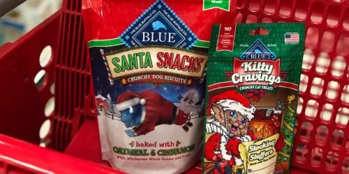 Blue Buffalo Santa Dog Snacks Only $1.50 Per Bag (Regularly $4) at Target + More