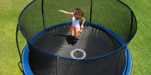 Bounce Pro 14′ Trampoline w/ Enclosure $179 Shipped (Regularly $330) – Black Friday Price