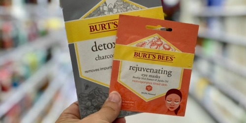 Burt's Bees Rejuvenating Eye Masks Only 65¢ Each Shipped After Target Gift Card + More
