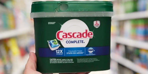 Cascade Complete ActionPacs 78-Count Only $9.70 Shipped on Amazon