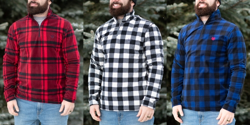 Chaps Men's Flannel 1/4 Zip Jacket Only $15.99 Shipped (Regularly $70)