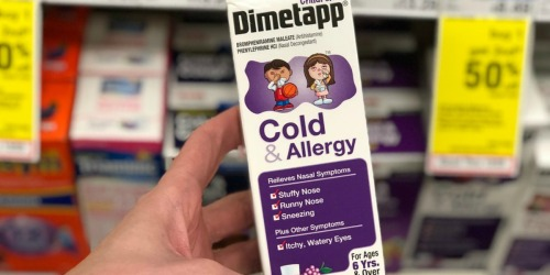 Children's Dimetapp Only 99¢ Each After Walgreens Rewards + More (Starting 11/18)