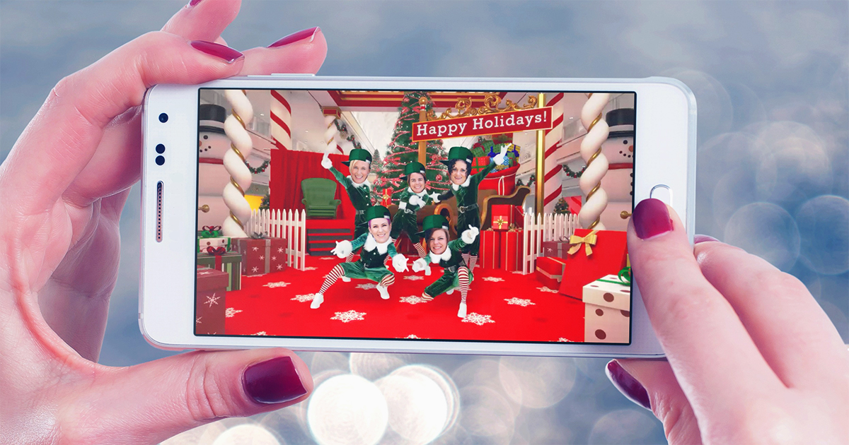 best free christmas apps – elf yourself video of hip2save team