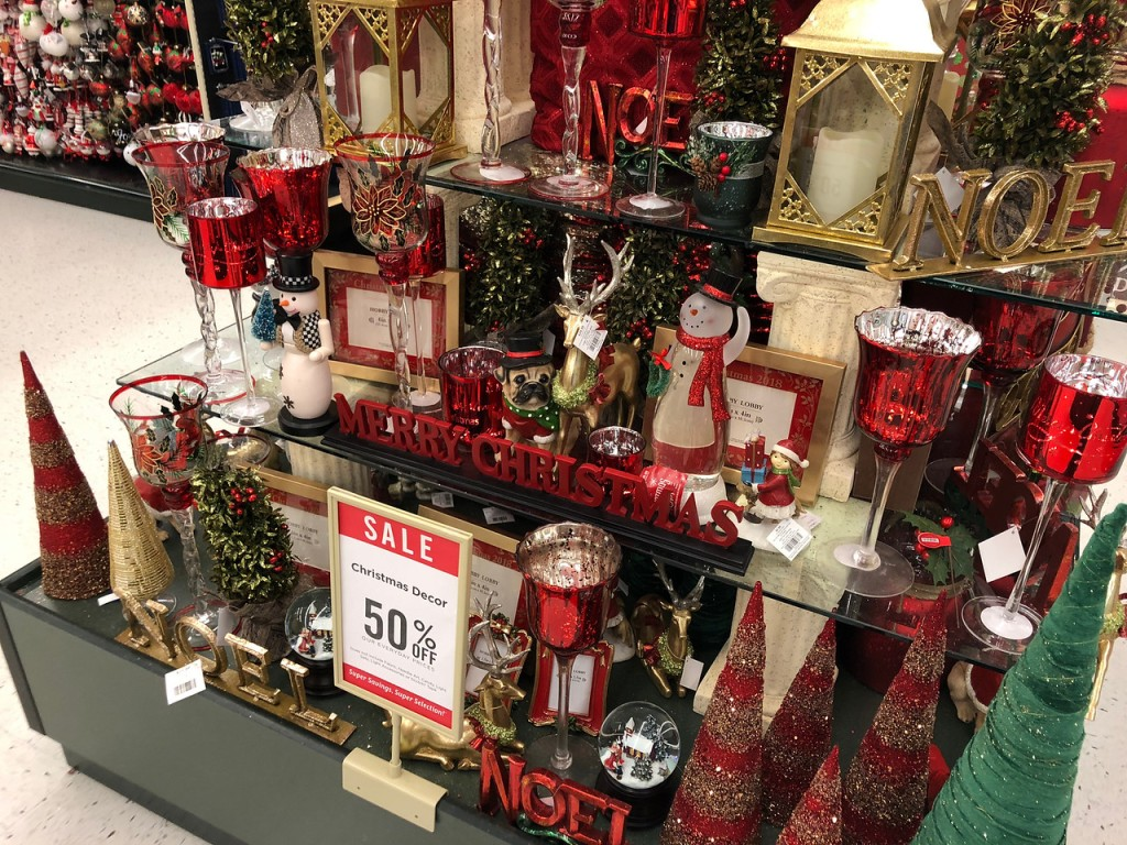 50 Off Christmas Decor Amp More At Hobby Lobby Ornaments
