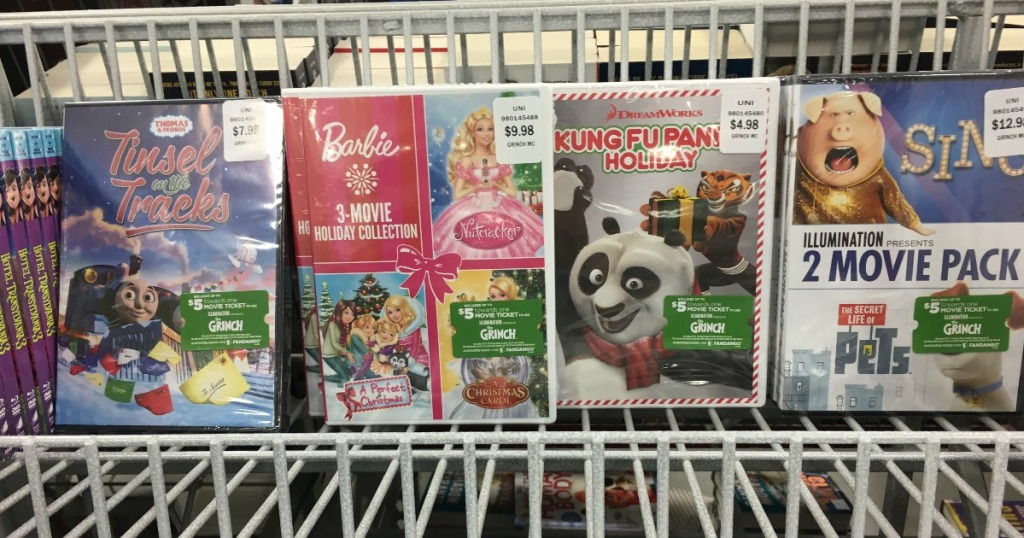 Christmas DVDs As Low As $4.98 + FREE $5 Fandango Movie